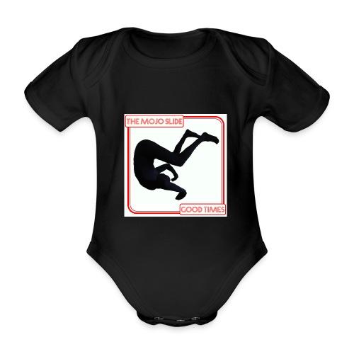 Good Times - Design 1 - Organic Short-sleeved Baby Bodysuit