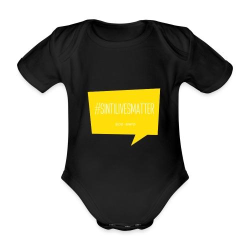 Sinti Lives Matter - Organic Short-sleeved Baby Bodysuit