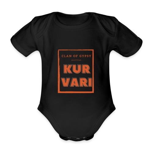 Clan of Gypsy - Position - Kurvari - Organic Short-sleeved Baby Bodysuit
