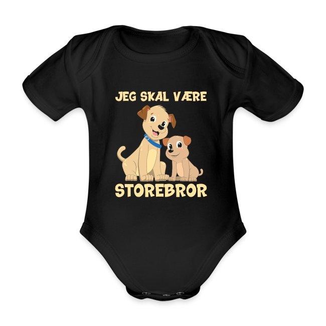 Jeg skal være storebror hvalpe hund gave fødsel