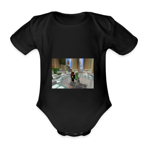 für meine schwester gemacht - Organic Short-sleeved Baby Bodysuit