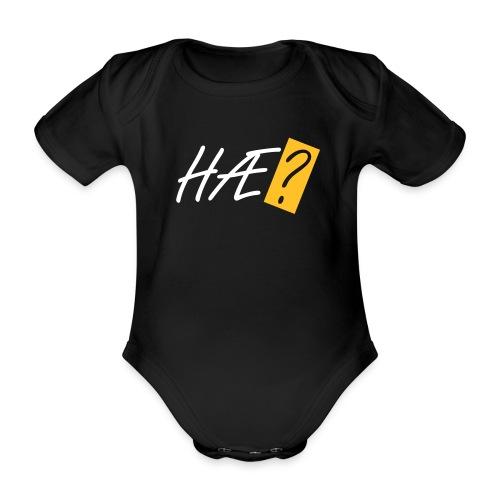 Hæ? - Organic Short-sleeved Baby Bodysuit