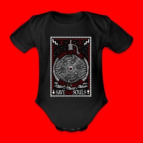 SaveOurSouls - Organic Short-sleeved Baby Bodysuit