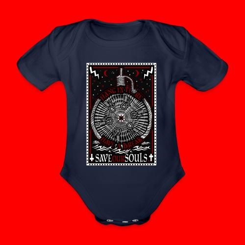 SaveOurSouls - Organic Short-sleeved Baby Bodysuit