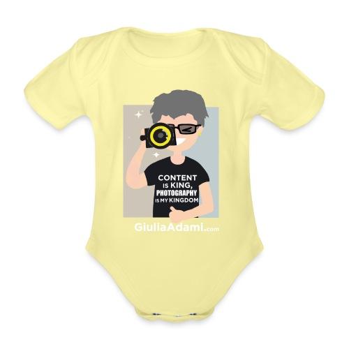 Giulia Adami - Body ecologico per neonato a manica corta