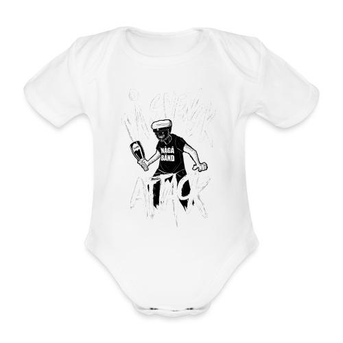På Svenska Tack - Organic Short-sleeved Baby Bodysuit