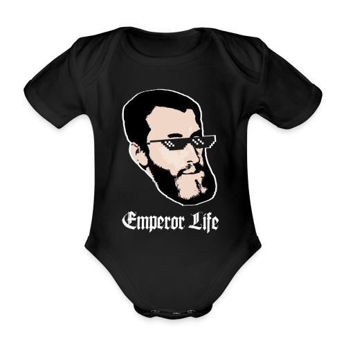 Carlos I y V de Alemania (Emperor Life) URBANO - Body orgánico de maga corta para bebé