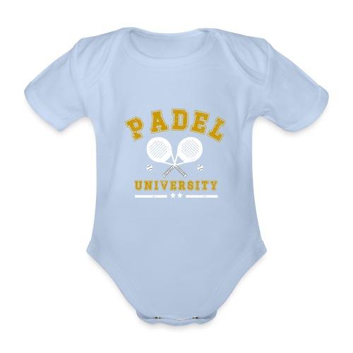 Padel University Vintage - Ekologisk kortärmad babybody
