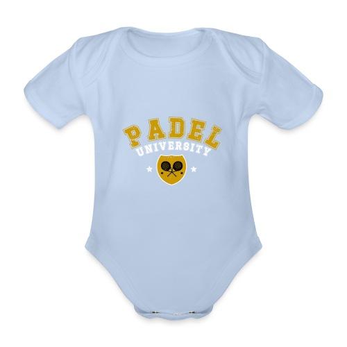 Padel Tennis Universitet Vintage - Ekologisk kortärmad babybody