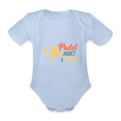 Padeltennis Beroende och Stolt Över Det - Ekologisk kortärmad babybody