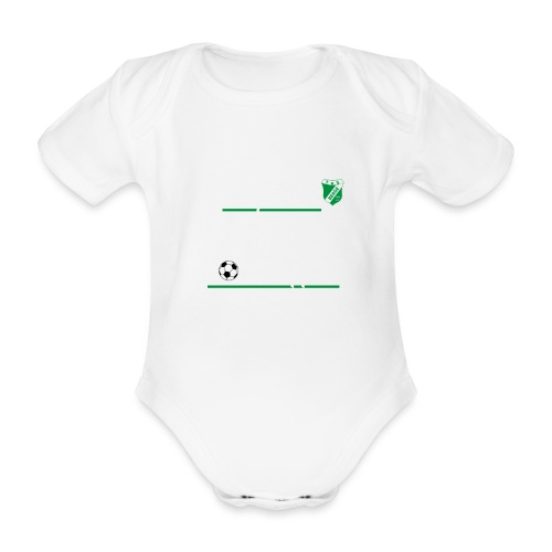 Papas-Volltreffer - Baby Bio-Kurzarm-Body