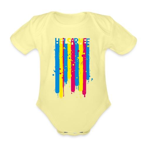 Kids Shirts Letters - Baby Bio-Kurzarm-Body