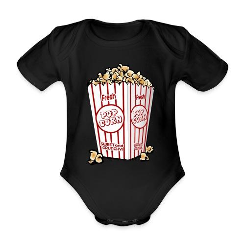 Popcorn - Ekologisk kortärmad babybody