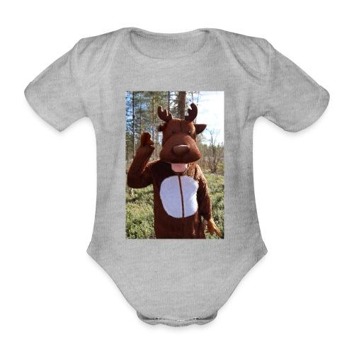 Poro - Vauvan lyhythihainen luomu-body