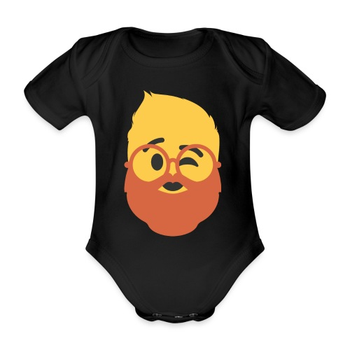 Dougsteins Wink by Dougsteins - Organic Short-sleeved Baby Bodysuit