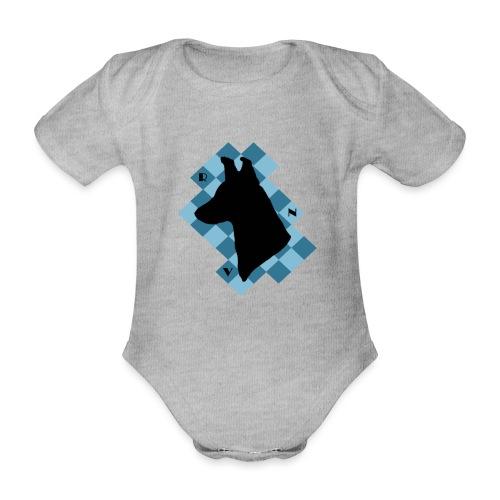 SquareDog - Vauvan lyhythihainen luomu-body