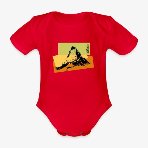 Matterhorn - Organic Short-sleeved Baby Bodysuit
