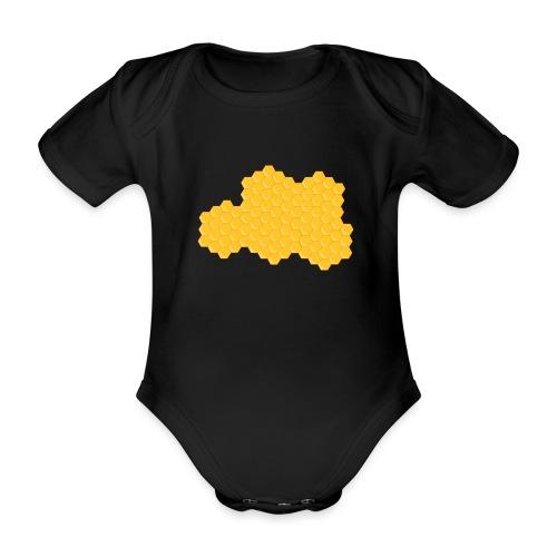 Bienenwabe - Baby Bio-Kurzarm-Body