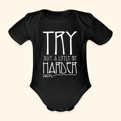 UNOIT-TryHarder - Body Bébé bio manches courtes