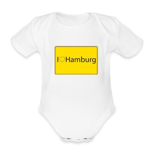 I love hamburg - Baby Bio-Kurzarm-Body
