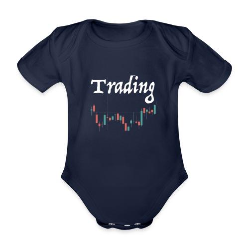 Trading lovers T-shirt - Body ecologico per neonato a manica corta