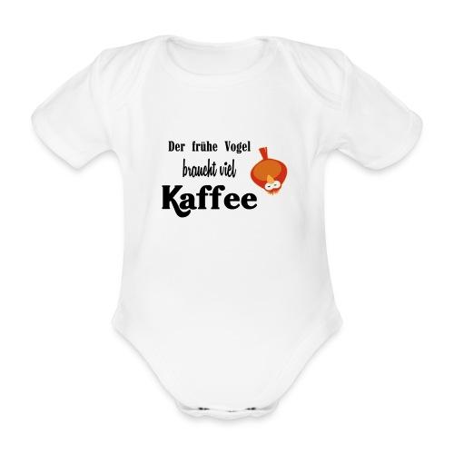 kaffeeVogel.png - Baby Bio-Kurzarm-Body