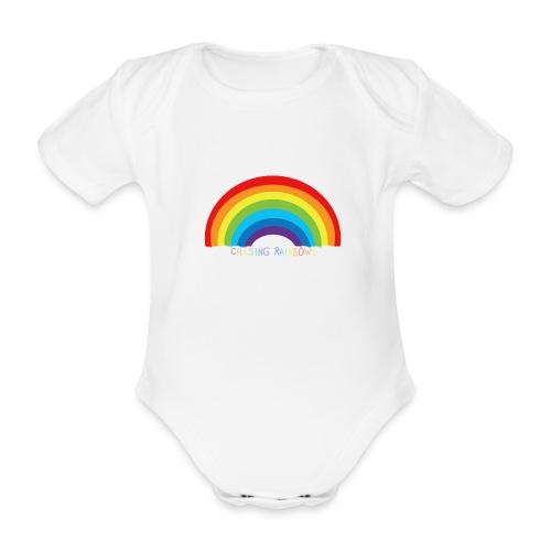 chasing rainbows - Body orgánico de manga corta para bebé