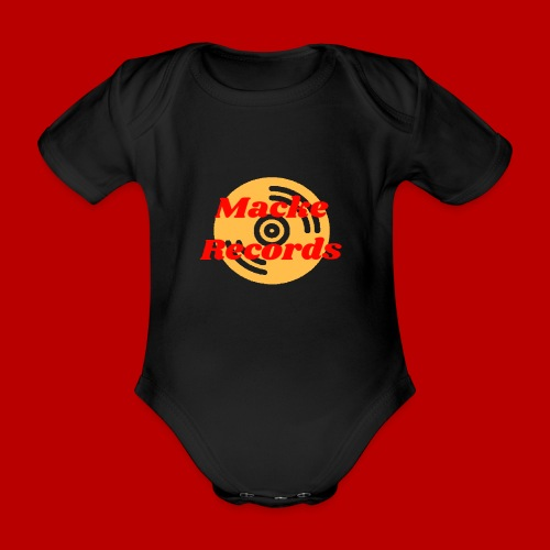 mackerecords merch - Ekologisk kortärmad babybody