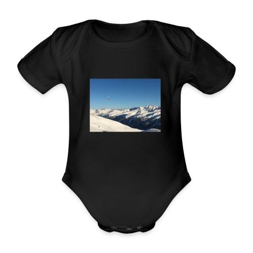 bergen - Baby bio-rompertje met korte mouwen