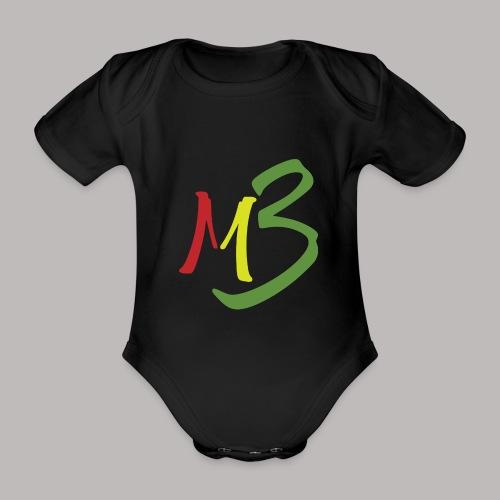 MB13 Logo rasta1 - Organic Short-sleeved Baby Bodysuit