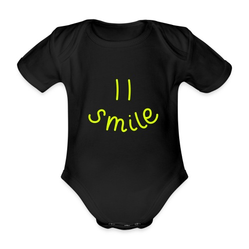 Smile-y - Baby Bio-Kurzarm-Body