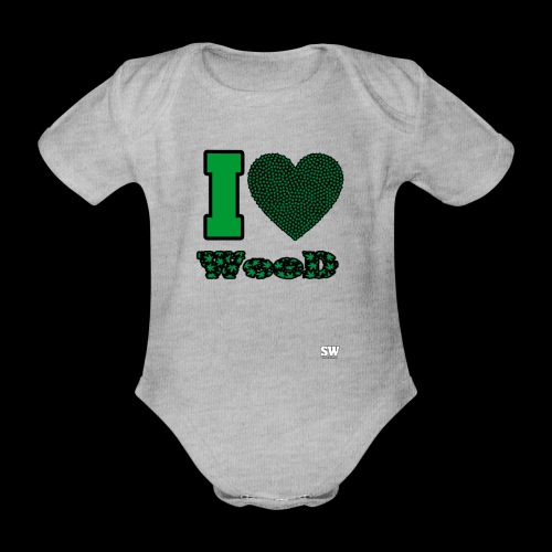 I Love weed - Body Bébé bio manches courtes