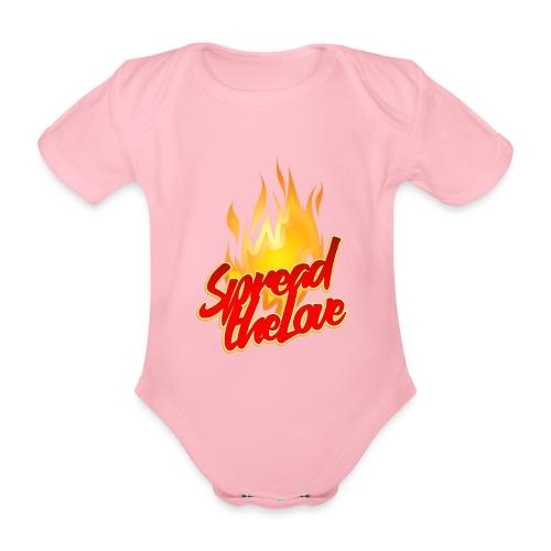 spread png - Body ecologico per neonato a manica corta