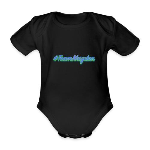 #TeamMayden - Body orgánico de maga corta para bebé