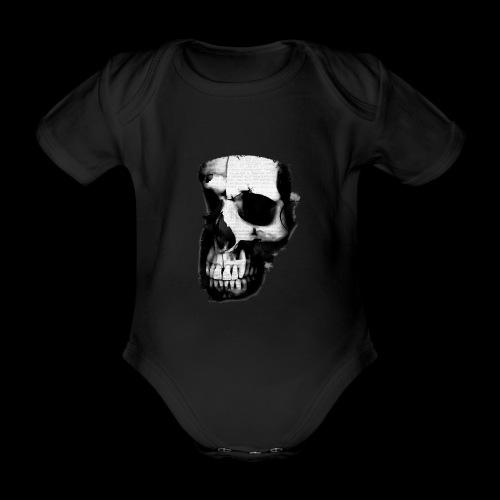 teschio darktrasp - Body ecologico per neonato a manica corta