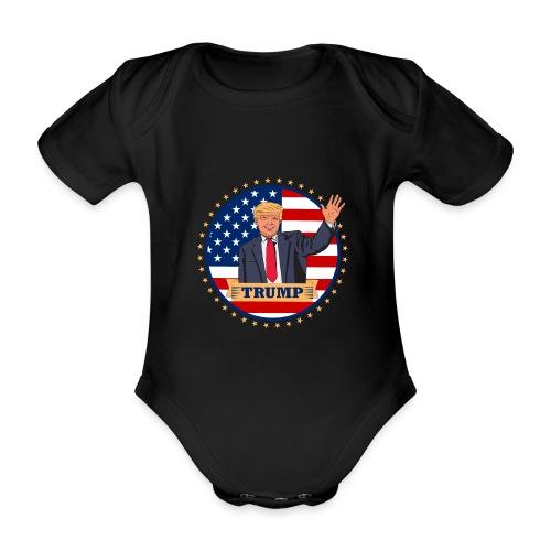 Trump - Baby Bio-Kurzarm-Body