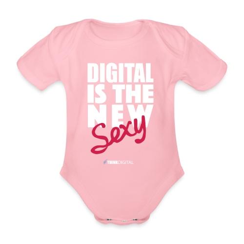 DIGITAL is the New Sexy - Body ecologico per neonato a manica corta