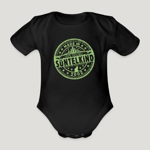 SÜNTELKIND 2002 - Das Süntel Shirt mit Süntelturm - Baby Bio-Kurzarm-Body