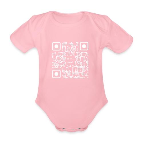 QR - Maidsafe.net White - Organic Short-sleeved Baby Bodysuit