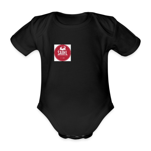 Rond rouge jpg - Body Bébé bio manches courtes