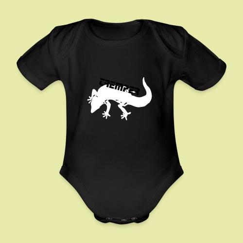 tremper_gecko_logo_einfach - Baby Bio-Kurzarm-Body