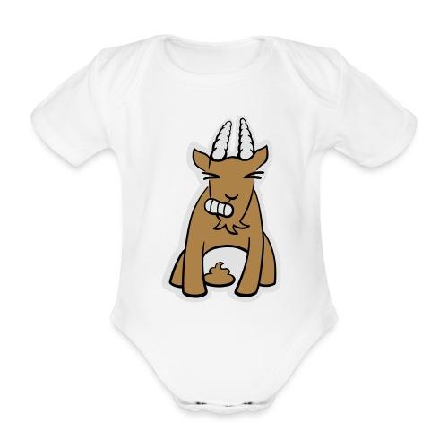 Scheissbock - Baby Bio-Kurzarm-Body