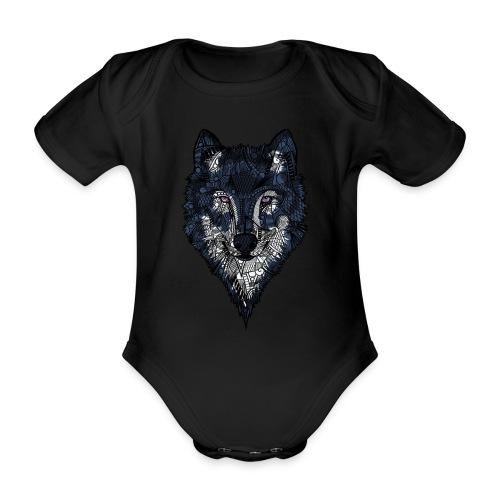 Ulv - Økologisk kortermet baby-body