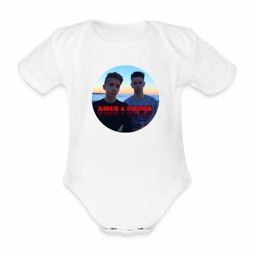 AMES & DADOX - Body ecologico per neonato a manica corta