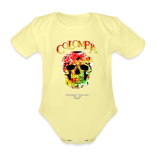 Farbentot - Baby Bio-Kurzarm-Body