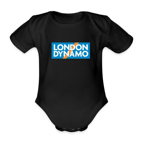 londondynamoSquare ALL jpg - Organic Short-sleeved Baby Bodysuit