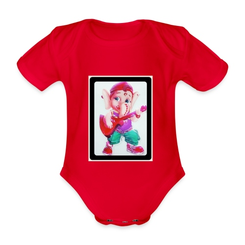 IMG 20161109 231707 732 - Organic Short-sleeved Baby Bodysuit