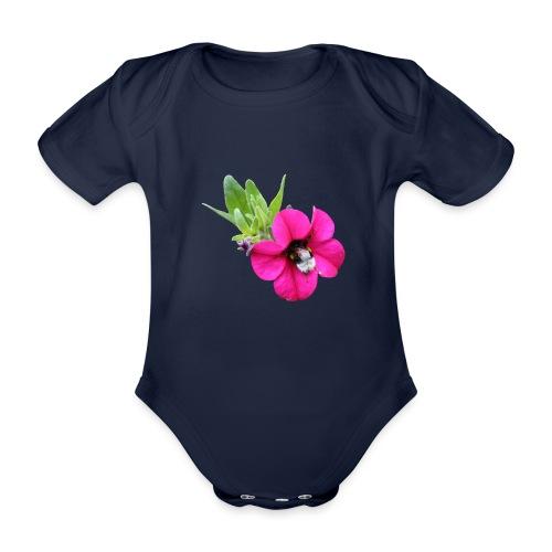 Miljoonakello ja kimalainen - Vauvan lyhythihainen luomu-body