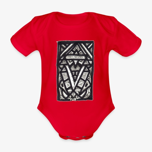 Hierophant - Organic Short-sleeved Baby Bodysuit