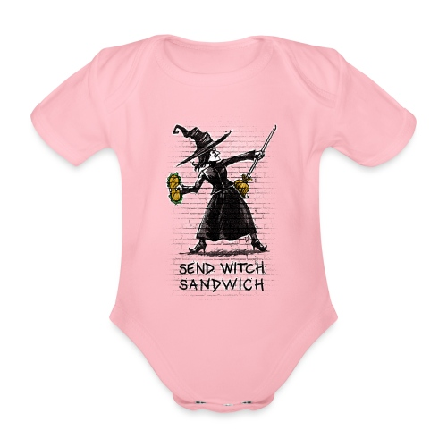 Send Witch Sandwich - Organic Short-sleeved Baby Bodysuit